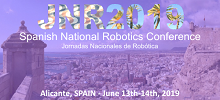 Spanish National Robotics Conference 2019 Alicante